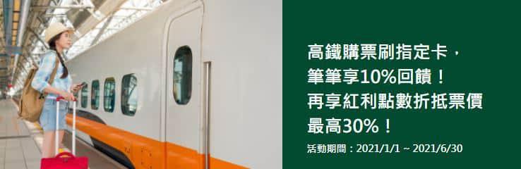 前月累積消費滿 NT$15,000,高鐵購票刷 Costco 聯名卡享 10% 多利金回饋