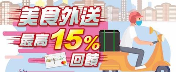 兆豐卡於每週五六日於外送平台單筆消費滿額,登錄後享額外 12% 回饋